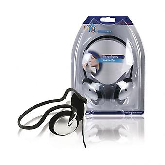 HQ Headphones with neckband 2.10 m
