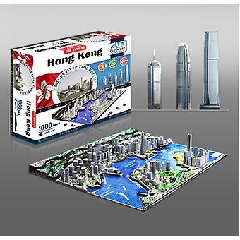 4D Cityscape Hong Kong (Toys , Boardgames , Puzzles)