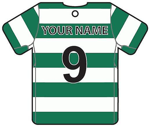 Personalised Sporting Lisbon Football Shirt Car Air Freshener