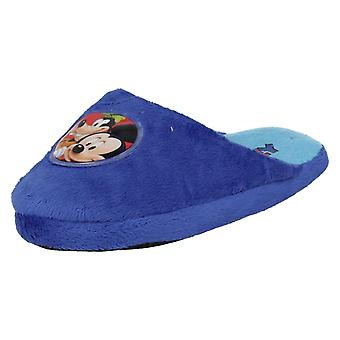 Boys Mickey Mouse Slipper Mules
