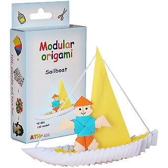 Modular Origami Kit-Sailboat VE001