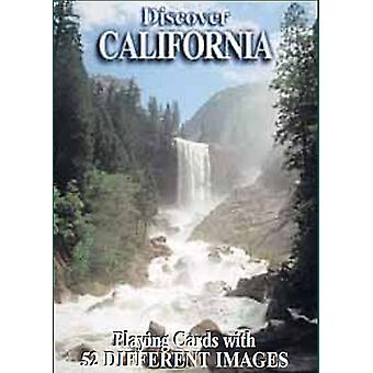 Discover California set of 52 playing cards + jokers    (gib)