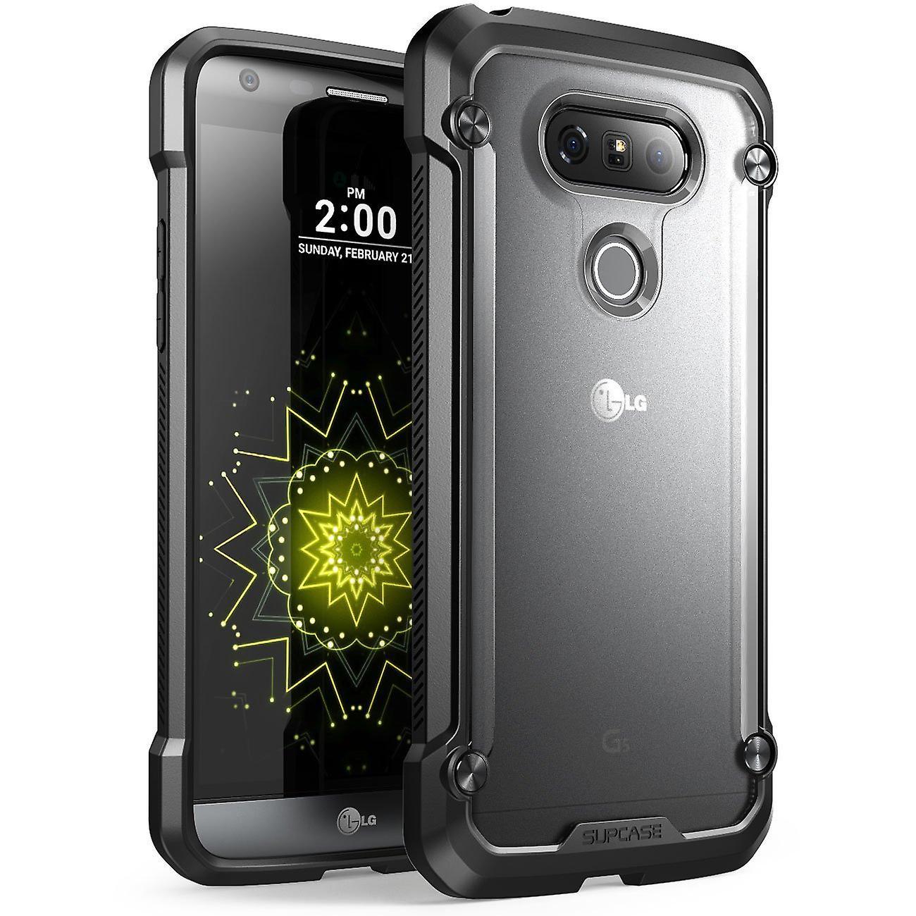 SUPCASE-Samsung LG G5 Unicorn Beetle Series Hybrid Protective Case-Clear