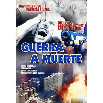 Guerra en Muerte [DVD] USA importerer