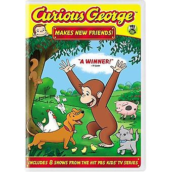 Curious George - Curious George: Curious George Makes New Friends [DVD] USA import