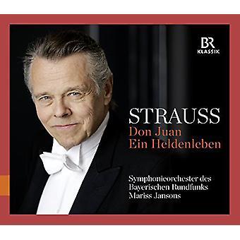 Strauss, R. / Jansons / bayerske Radio Sym - Don Juan & Ein Heldenleben [CD] USA import