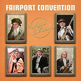 Fairport Convention - importazione USA miti & Heroes [CD]