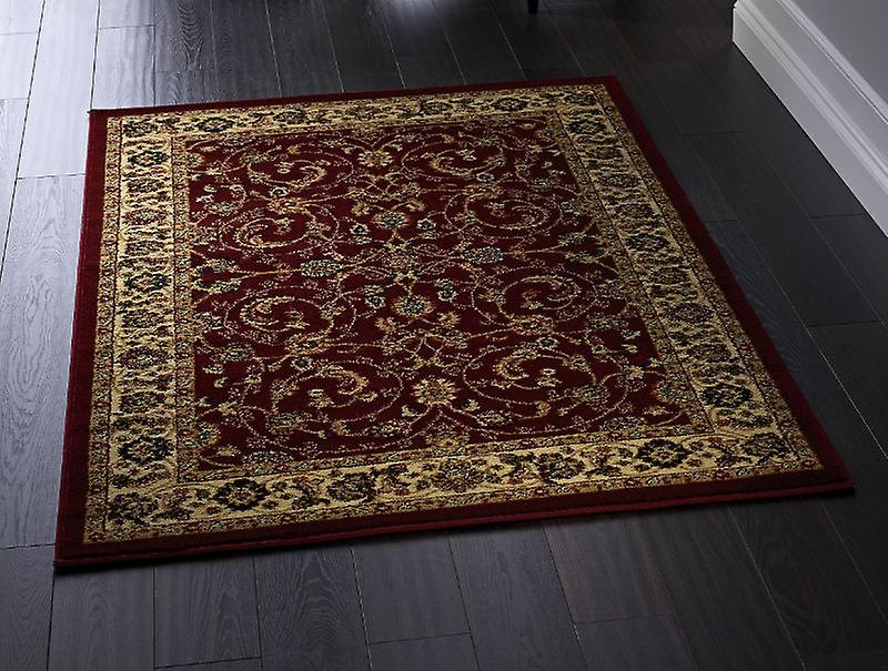 Gracie Cherry  Rectangle Rugs Traditional Rugs