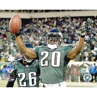Brian Dawkins - 04 NFC Championship Celebration Photo Print