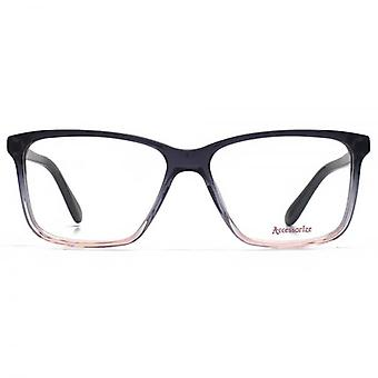 Accessorize Square Glasses In Grey Gradient
