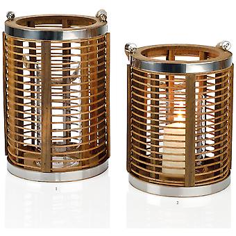 Andrea House Bamboo/Metal Rd Candle Holder 29Hcm (Home , Decoration , Candles)