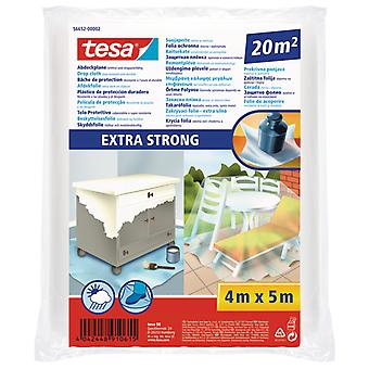 Tesa Drop Cloth Extra Strong For Protecting Large Areas Against Paint
