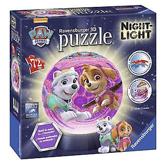 Simba 3D Puzzle Skye & Everest With Lamp (Speelgoed , Bordspellen , Puzzels)