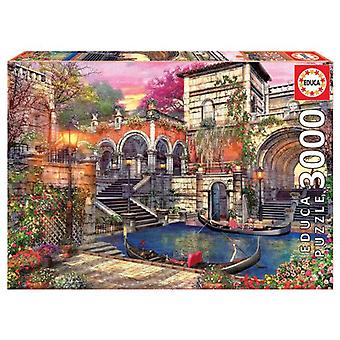 Educa Puzzle Romance In Venice 3000 Pieces (Toys , Boardgames , Puzzles)