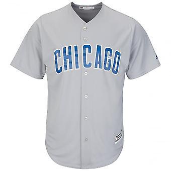 Majestätische coole sportliche Mlb-Chicago Cubs Basis Road Jersey