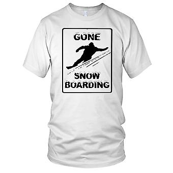 Gone Snowboarding - Sports Snow Winter Sports Kids T Shirt