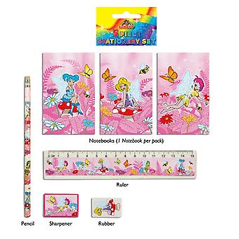 24 Fairy 5-Piece Stationery Sets