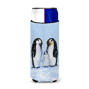 Penguin Family by Daphne Baxter Ultra Beverage Insulators for slim cans