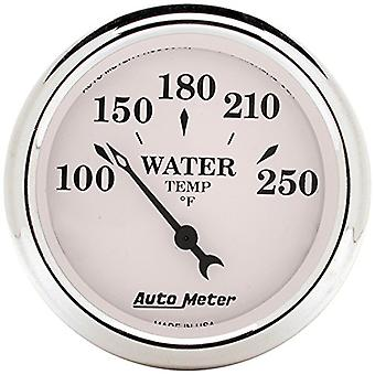 Auto Meter 1638 Old Tyme White Mechanical Water Temperature Gauge
