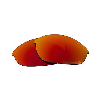 Replacement Lenses Compatible with OAKLEY Half Jacket 2.0 Asian Fit Red Mirror