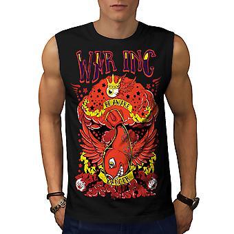 Krieg Inc Nuke Bombe Männer BlackSleeveless T-shirt   Wellcoda