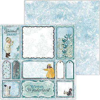 Winter Playground Double-Sided Cardstock 12