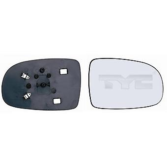 Right Mirror Glass (not heated) & Holder For OPEL CORSA C 2000-2006