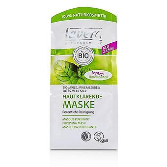 Lavera organische Mint zuiveren masker - 2x5ml
