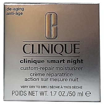 Clinique Smart Night Custom Repair Moisturizer trockene Haut 50 ml