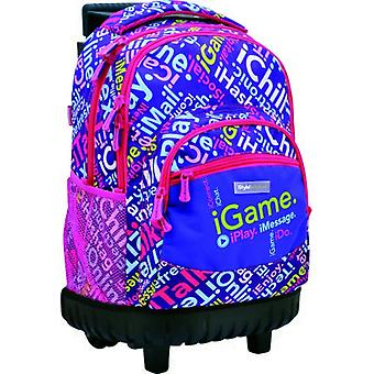 Istyle Compact Fixed carriage Purple (Babies and Children , Toys , School Zone)