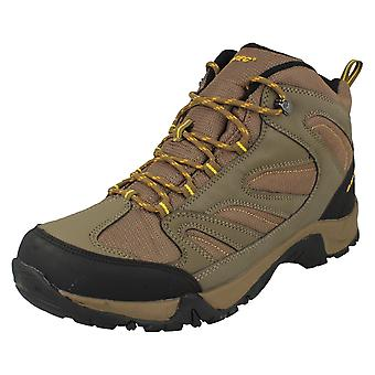 Mens Hi-Tec Casual Lace Up Walking Boots Pioneer