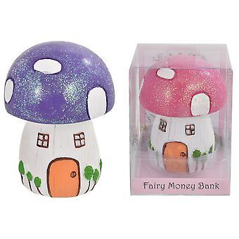 Fairyland Mushroom Moneybox - Colour May Vary