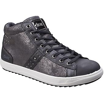 Divaz Womens/Ladies Steffy Metallic Embellished Casual Trainer Boots