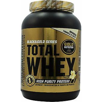 Gold Nutrition Total Whey Vainilla 1 kg (Sport , Muscle mass , Proteins)