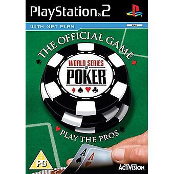World Series of Poker (PS2) - Usine scellée