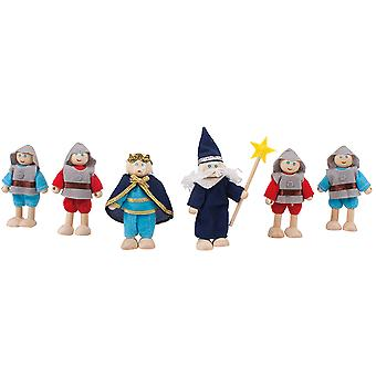 Bigjigs Toys Heritage Playset Knights Set