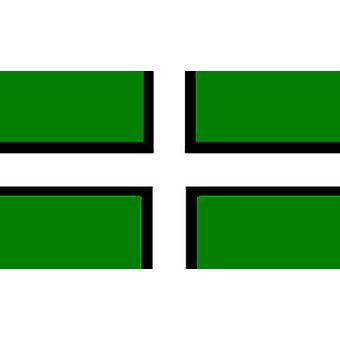 Devon Flag 5ft x 3ft With Eyelets For Hanging