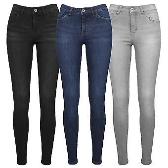 Urban Classics Damen Jeans Skinny Denim
