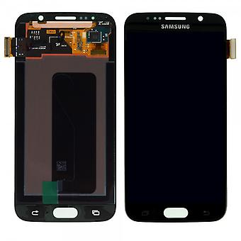 Display LCD complete set touch screen black for Samsung Galaxy S6 G920 G920F