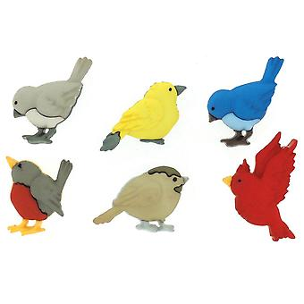 Dress It Up Embellishments-Feathered Friends