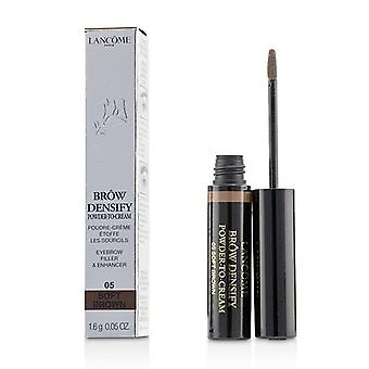 Lancome Brow Densify Powder To Cream - # 05 Soft Brown - 1.6g/0.05oz