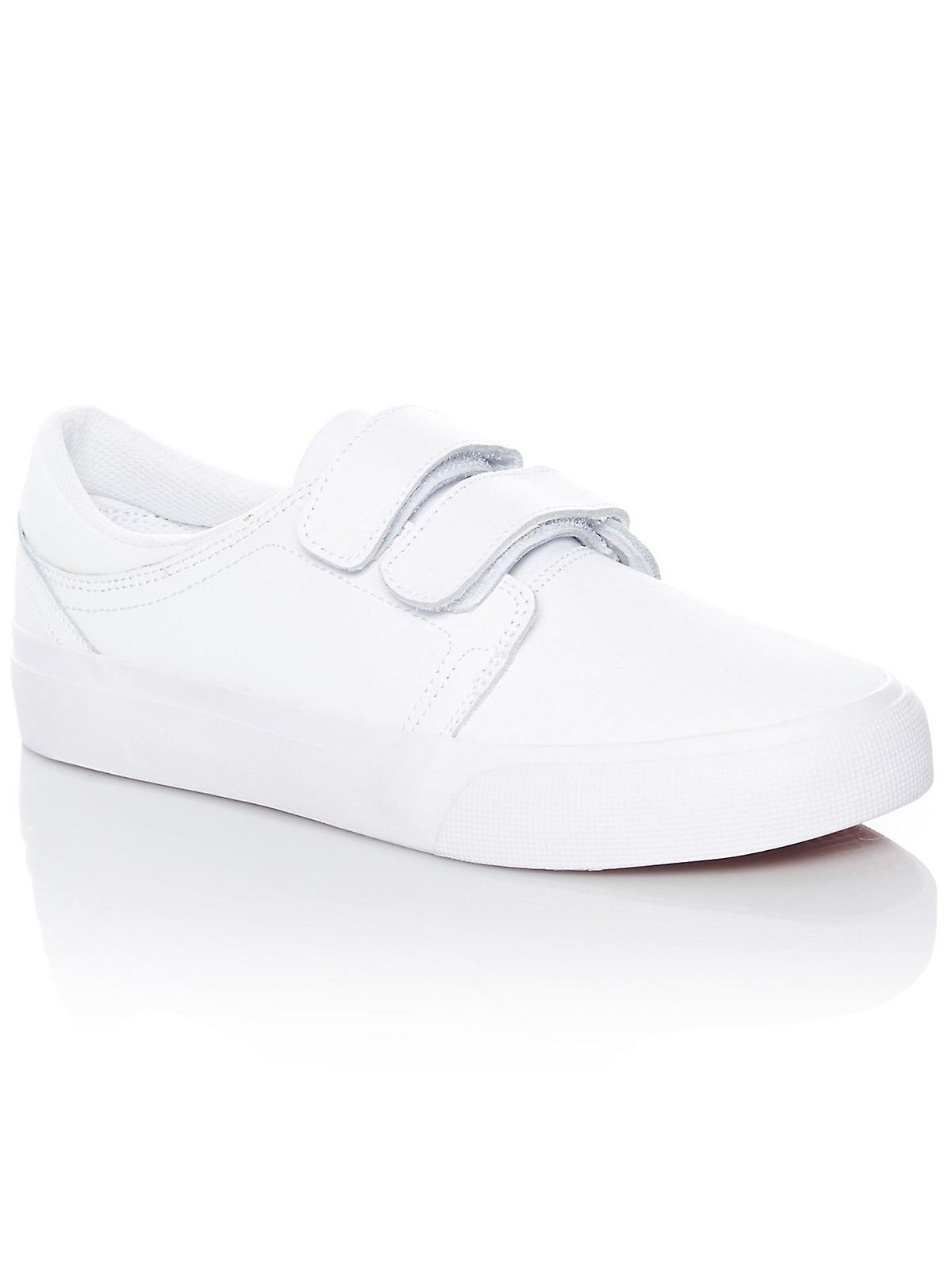 DC White-White-Athletic Red Trase Top V SE Womens Low Top Trase Shoe b702c6