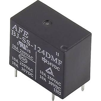 AFE BJ-SS-112DMF PCB relay 12 Vdc 10 A 1 maker 1 pc(s)