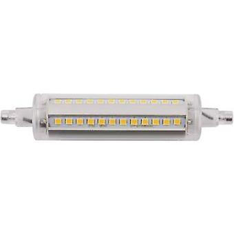 LightMe LED EEC A+ (A++ - E) R7s Tubular 8 W Warm white (Ø x L) 24 mm x 118 mm 1 pc(s)