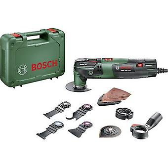 Bosch Home and Garden PMF 250 CES Set 0603102101 Multifunction tool incl. accessories, incl. case 16-piece 250 W