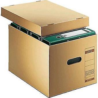 Leitz Box file 6081-00-00 340 mm x 275 mm x 455 mm Corrugated cardboard Ecru brown 1 pc(s)