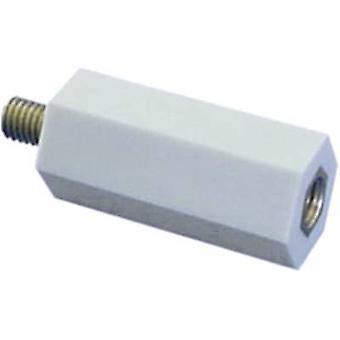 6S20 coibentati distanziatore (L) 20 mm M6x7 mm poliestere, acciaio zincato 1/PC