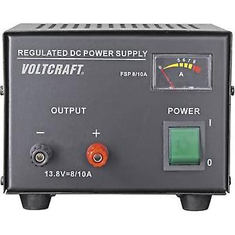 VOLTCRAFT FSP-1138 Bench PSU (fixed voltage) 13.8 Vdc 8 A 110 W No. of outputs 1 x