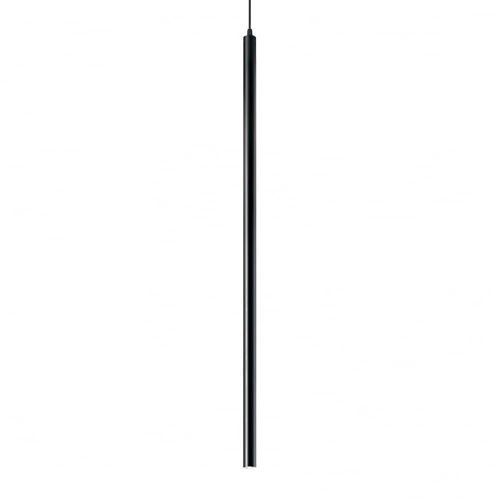 Ideal Lux Ultrathin Single pendentif lumière noir