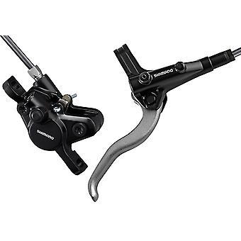 Shimano BR-MT400 disc brakes (hydraulic)